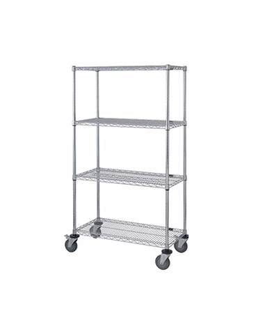Mobile Wire Stem Caster Cart 58