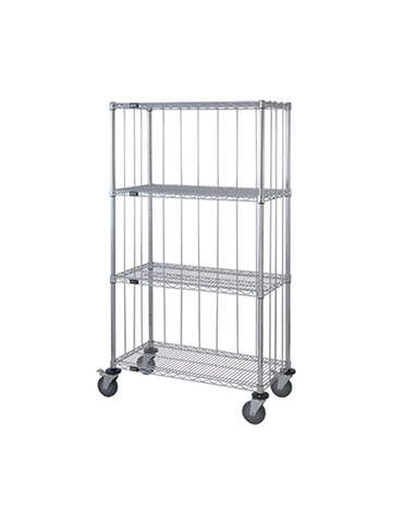Mobile Wire Stem Caster Cart 60